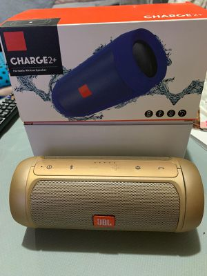 Bluetooth Speaker waterproof Wireless Bluetooth Charge 2+ Deep Subwoofer Stereo Portable Speakers with Retail Box for Sale in Federal Way, WA