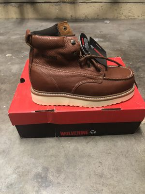 Wolverine work boots for Sale in San Diego, CA