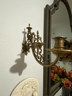 Solid brass Victorian candelabra for Sale in Lytle, TX