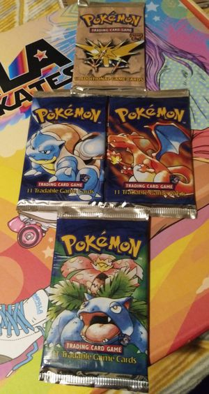 Vintage Pokemon Card booster pack for Sale in Wheeling, IL