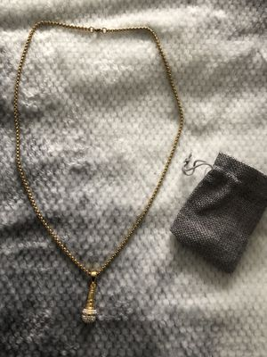 Gold/Silver chains with pendants for Sale in Burien, WA