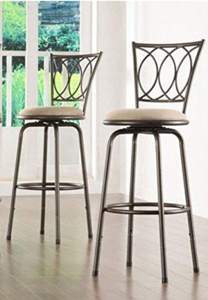 Roundhill adjustable swivel barstool for Sale in Chicago, IL
