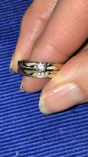 Engagement ring and wedding band for Sale in Evergreen, CO