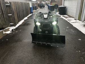 2017 Polaris brand new plow for Sale in Chicago, IL