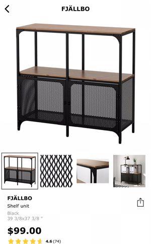 IKEA FJÄLLBO Shelf Unit, Entryway Table, Console for Sale in Lynnwood, WA