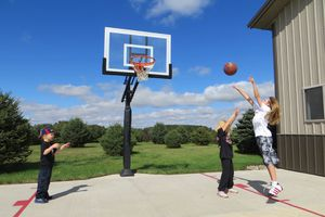 Lifetime 54 inch in ground basketball hoop for Sale in Los Angeles, CA