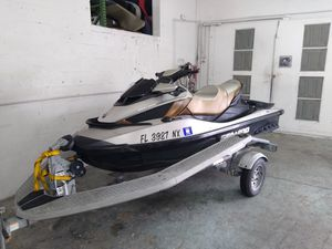 JETSKI SEADOO GTX 255 IS WITH SUSPENSION WITH SEADOO TRAILER!! JUST 87 HOURS!! for Sale in Biscayne Park, FL