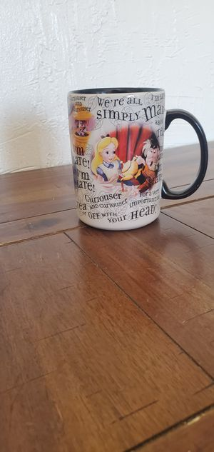 Disney Alice in Wonderland Mug for Sale in Colton, CA