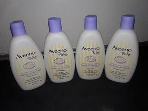 Aveeno Baby Calming Comfort Bath Wash 8 fl oz Bundle: 4 for $16 for Sale in Garland, TX