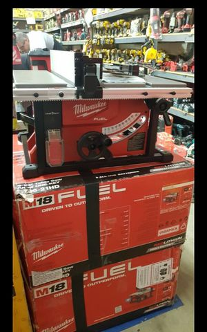 MILWUAKEE M18 FUEL BRUSHLESS ONE KEY TABLE SAW TOOL ONLY BRAND NEW for Sale in San Bernardino, CA