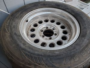 TWO (2) ALUMINUM WHEELS ONLY 305 60 18 FROM A 1962 C10 chevy truck for Sale in Gilroy, CA