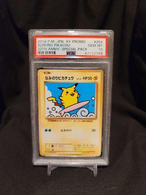 Pokemon Surfing Pikachu PSA 10 for Sale in Norwalk, CA