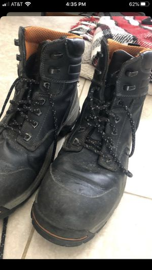 Men's work boots steel toe size 10 for Sale in La Puente, CA