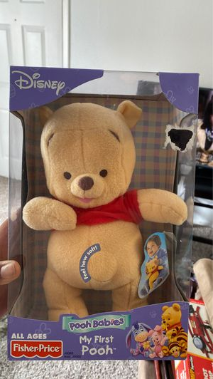 My first Pooh bear stuffed animal for Sale in Lewisville, TX
