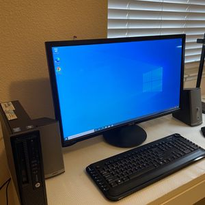 HP PC With Keyboard Mouse Bose & Monitor for Sale in Stockton, CA