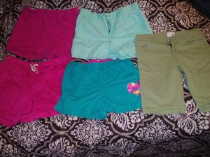 5 pair Girls size 14 shorts for Sale in San Angelo, TX