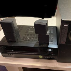 Onkyo Receiver & Bose Acoustimass 5 Series lll for Sale in Chula Vista, CA