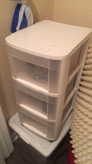 plastic storage drawers for Sale in Alafaya, FL