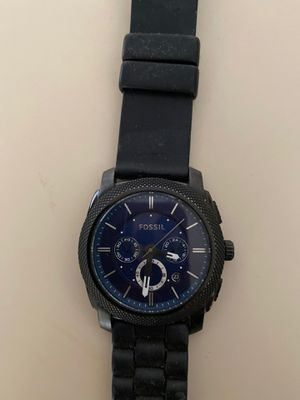 Fossil Chronograph machine black for Sale in St. Louis, MO