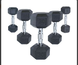 Dumbell Pairs in different sizes for Sale in New Carrollton, MD