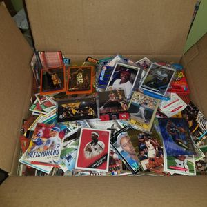 Sports cards- huge basketball cards , football cards , baseball cards around 20lbs, packs unopened. Lot #13 for Sale in Roseburg, OR