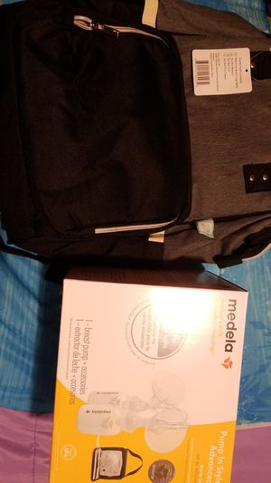 Breast pump & backpack for Sale in Washington, DC