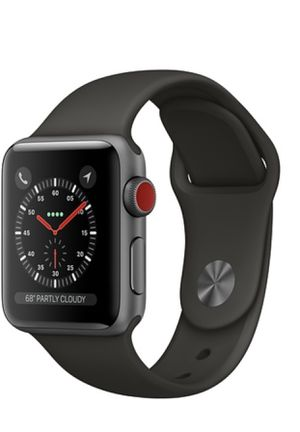 Apple Watch Series 3 Space Gray GPS + Cellular 42MM for Sale in Rockville, MD