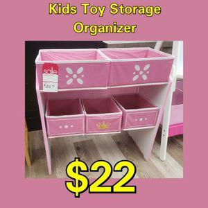 NEW Kids Toy Storage Organizer: Njft for Sale in Burlington, NJ