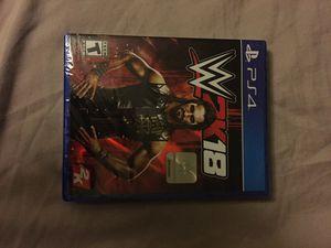 WWE 2k18 for Sale in Poway, CA