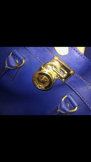 royal blue MK tote bag for Sale in Chevy Chase, MD