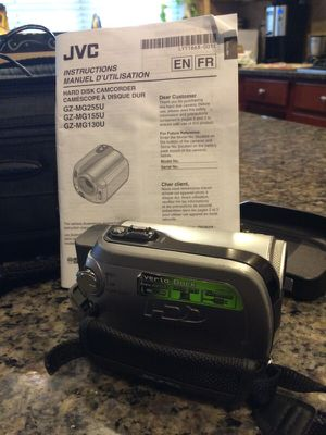 JVC Everio 30GB 32 MEga Pixel HDD Camcorder for Sale in Cary, NC