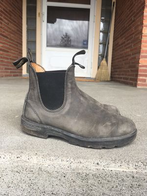 Blundstone Rustic Black Leather Work Boots (size 7.5) for Sale in Seattle, WA