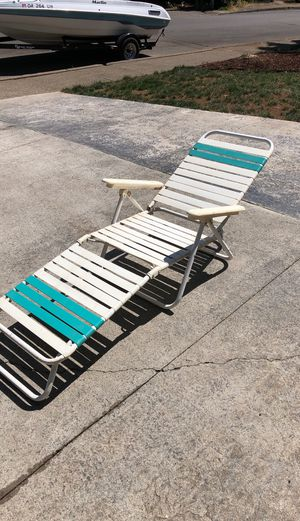 Deck/lawn chair for Sale in Salem, OR