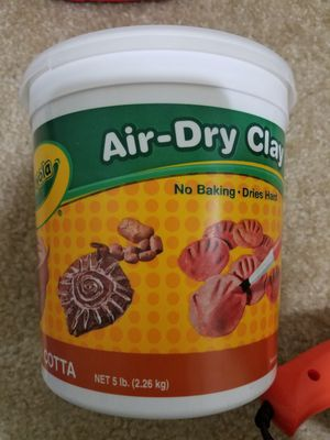 Air-Dry Clay Unopened Box for Sale in Pleasanton, CA