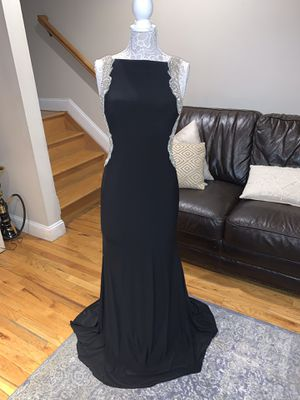 Black embellished prom dress for Sale in North Bergen, NJ