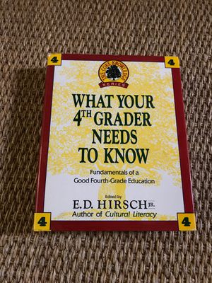 Book What Your 4th Grader Needs To Know for Sale in Lexington, SC