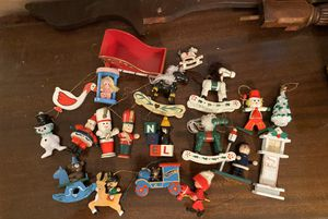 Vintage wooden Christmas ornaments FREE for Sale in CHAMPIONS GT, FL