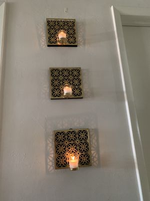 Three-pieceHanging candle holder for Sale in Fort Lauderdale, FL