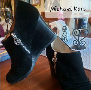 Michael Kors Black Wedge Shooties- NWOTs for Sale in VT, US