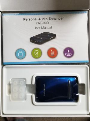 VitaSound Personal Audio Enhancer Handset (blue) NEW for Sale in Acton, MA