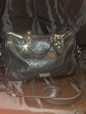 Steve Madden Black Leather Messenger Bag for Sale in Garden Grove, CA