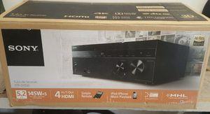 Sony STR-DH550 5.2 Channel Receiver w/ Remotr for Sale in San Antonio, TX