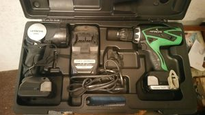 Hitachi drill flashlight combo, 2 batteries 14.4v for Sale in Ocean Springs, MS