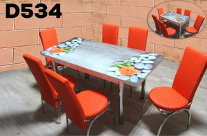 7 pc dining table set for Sale in Dallas, TX