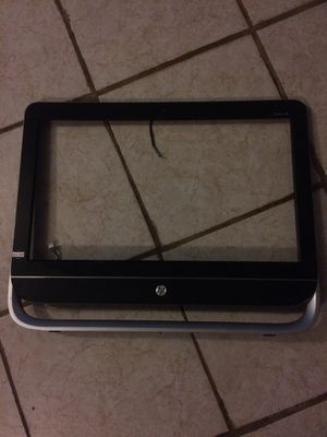 Hp all in one 20 inch front cover with speakers for Sale in Chelsea, MA
