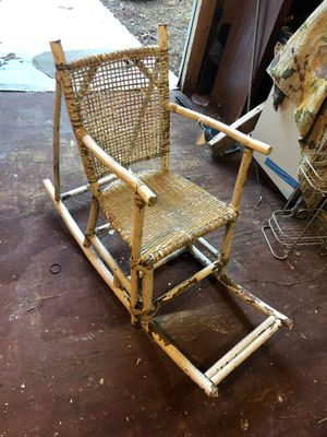 Antique children's rocker and perambulator. for Sale in Wake Forest, NC