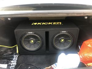 Kicker CompC Dual 12in Sub for Sale in Tampa, FL