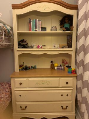 Kids- Girls Bedroom Wooden Furniture Dresser Drawer Bookcase Nightstand for Sale in The Bronx, NY