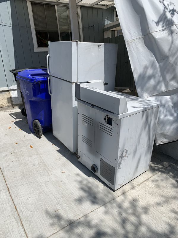 Fridge and dryer (commercial coin op) Free