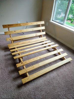 Full-Size Wooden Platform Bed Frame / Futon for Sale in Durham, NC